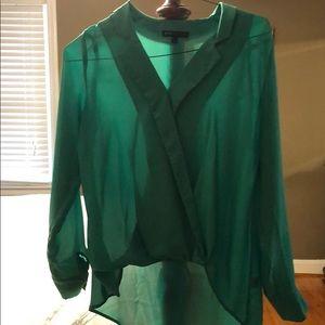 Gibson Emerald Green Blouse